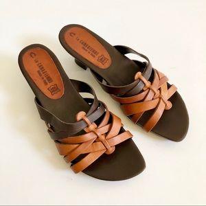 La Canadienne Treasure Leather Strappy Sandal
